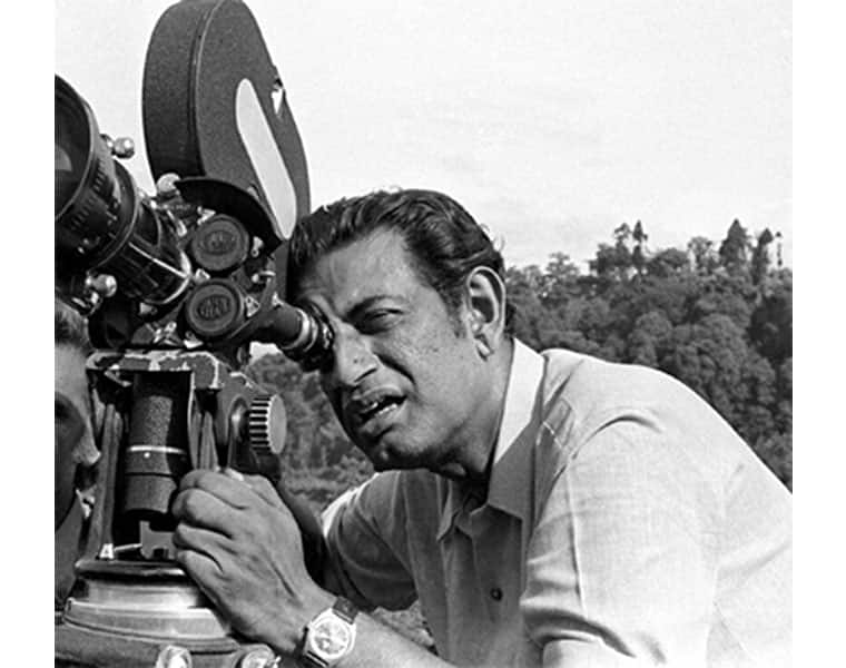 school bioscope celebrating director Satyajit Ray's 100 years birth anniversary