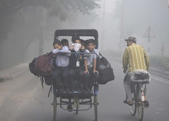 Delhi air quality worsens likely to improve with rain