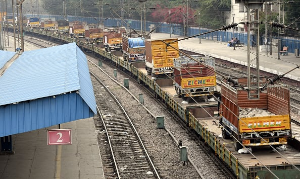 indian railway introduced roll on roll service piyush goyal shares a video