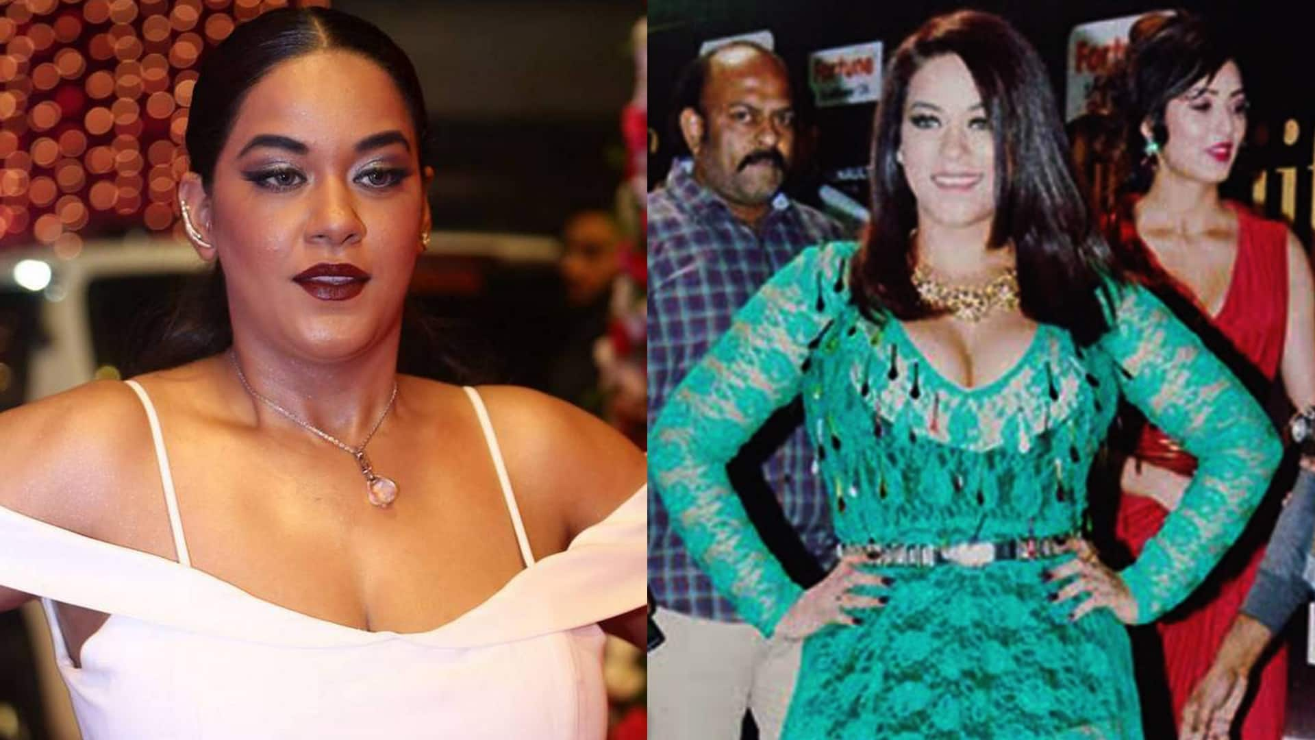 Here is exactly why item girl, Mumaith Khan has put on weight
