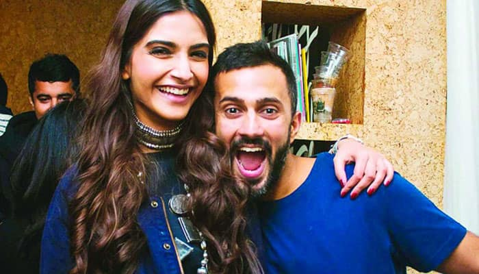 Sonam Kapoor says husband Anand Ahuja is obsessed with sneakers