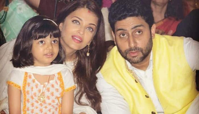 This is Abhishek Bachchan's reaction to rumours of divorcing Aishwarya Rai