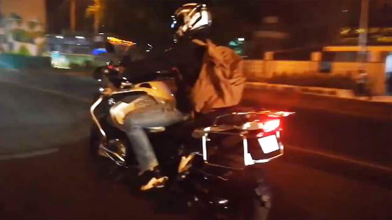 Actor-director Kichcha Sudeep gets new bike, here are the details [photos-video]
