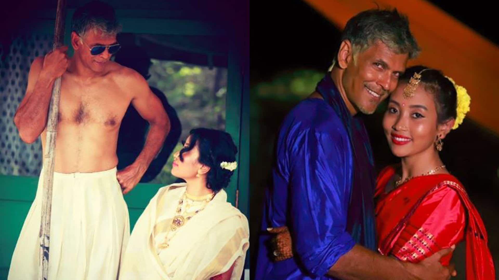 Here is Milind Soman's ex-girlfriend's reaction to his wedding with 27-year old lover