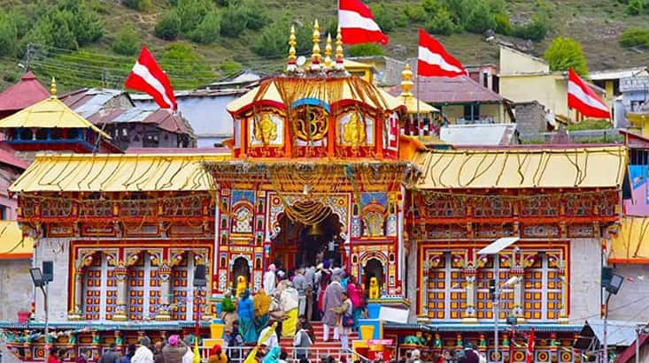 Special puja performed at Narsingh temple Joshimath ahead of Badrinath temple portal opening