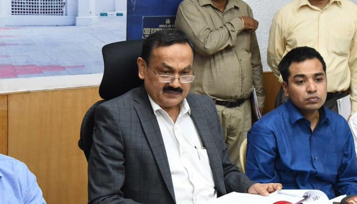 State EC Commissioner Press Conference For First Phase LS Elections