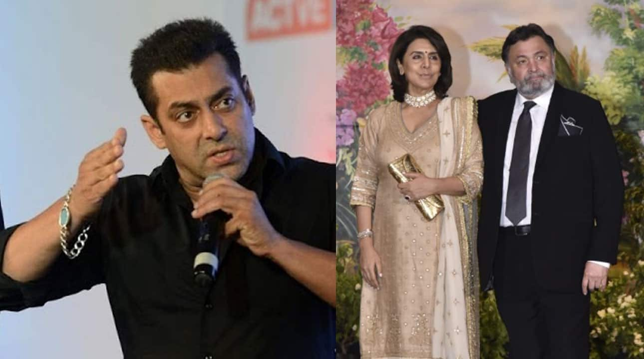 Rishi Kapoor misbehaves with Salman Khan's sister-in-law, wife apologises
