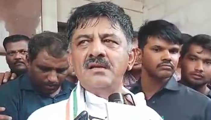 I am mistaken identity expresses minister DK Shivkumar