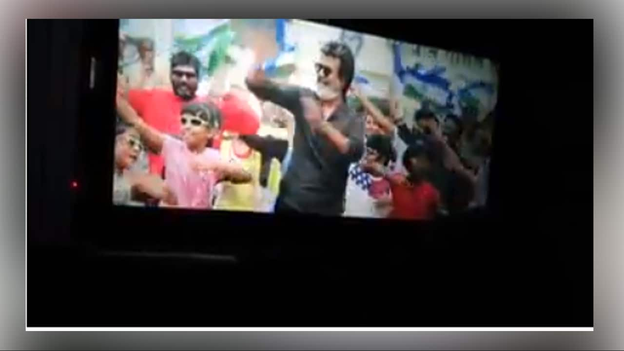Kaala movie on FB live! Rajinikanth and crew shocked