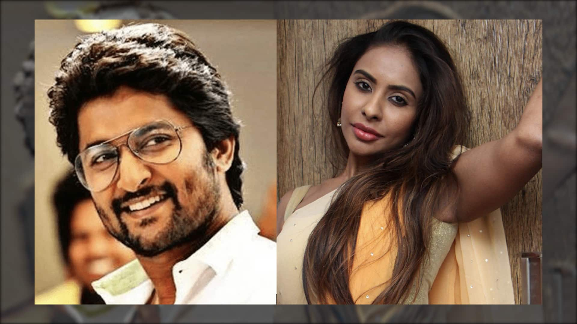 Swear on family and career that you didn't f**k me, Sri Reddy asks Nani