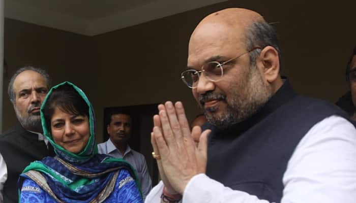 broke into Mehbooba's party, PDP many big leaders join BJP