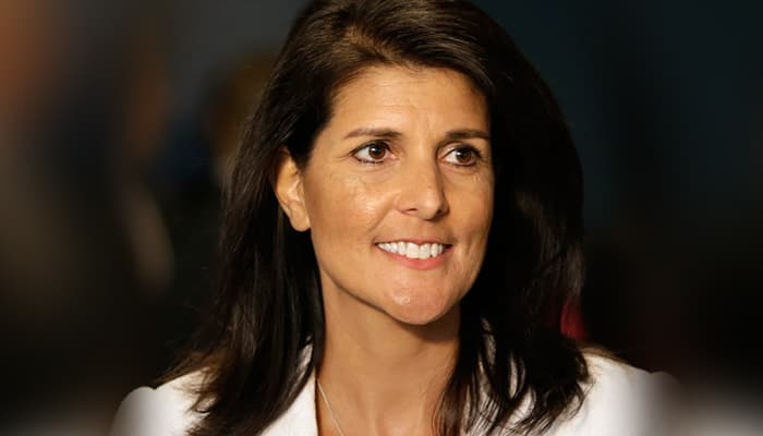 Nikki Haley first Indian American to serve in US cabinet hails Indias move to ban Chinese apps