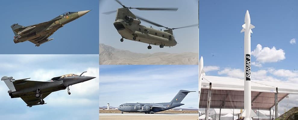 Deadly weapons of IAF