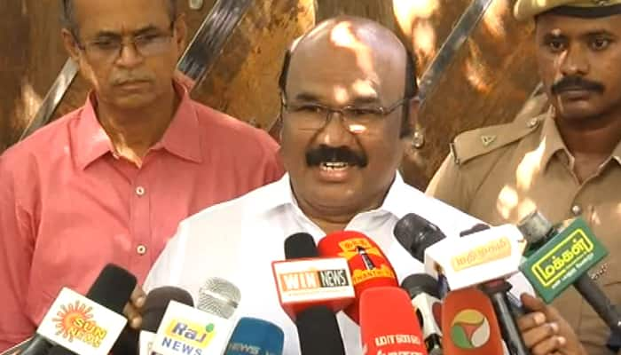 Doors open to allies for Lok Sabha election: AIADMK minister