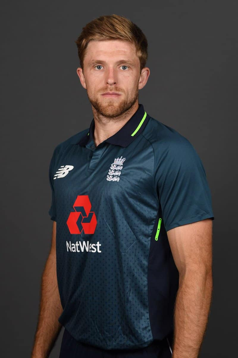 david willey revealed his discontent about world cup snub