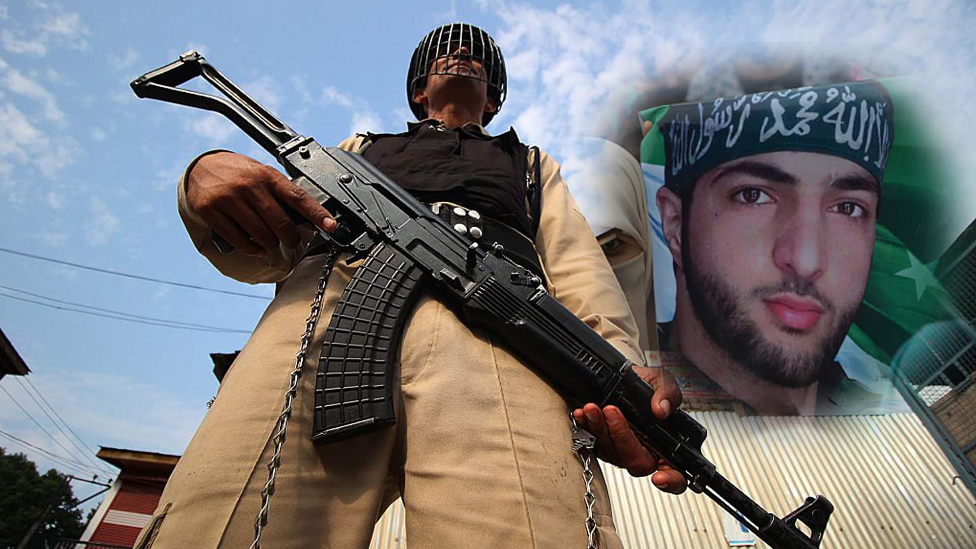 Restrictions imposed in parts of Kashmir on the eve of death anniversary of Burhan Wani