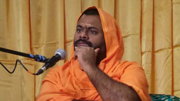 Telangana Swami Paripoornananda  Amit Shah Ram Madhav Yogi Adityanath  BJP
