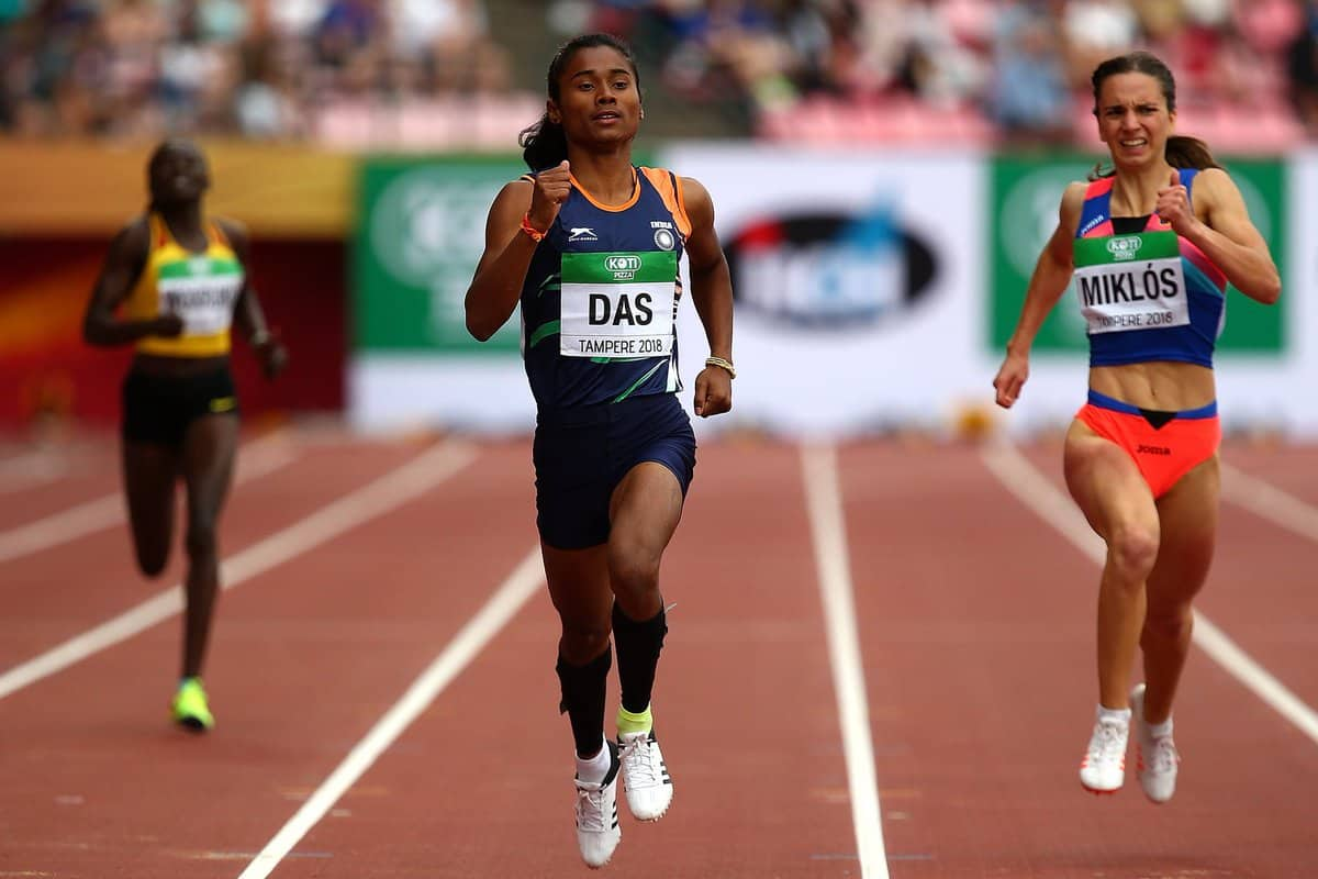 Hima Das says, I run for timing not for medel