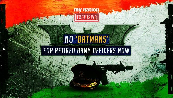 Exclusive: Army removing 2000 sahayaks from retired officers' houses
