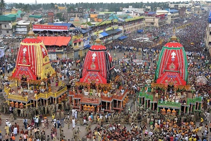 Festival of Chariots and its interesting journey