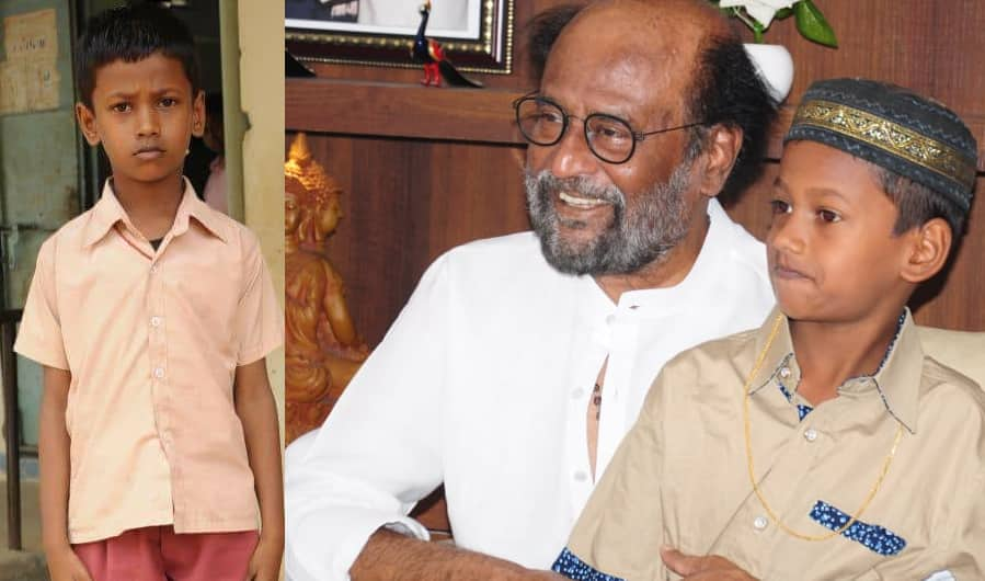 Rajinikanth honours 7-year-old Erode boy for honesty, promises to fund his education