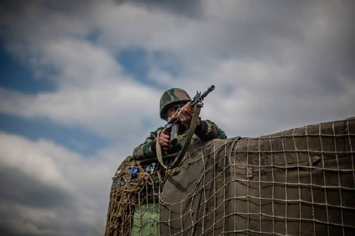 Encounter underway in Anantnag between terrorist and security forces