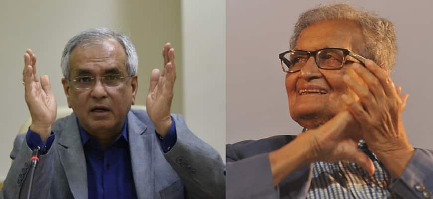 Niti Aayog 'challenges' Amartya Sen