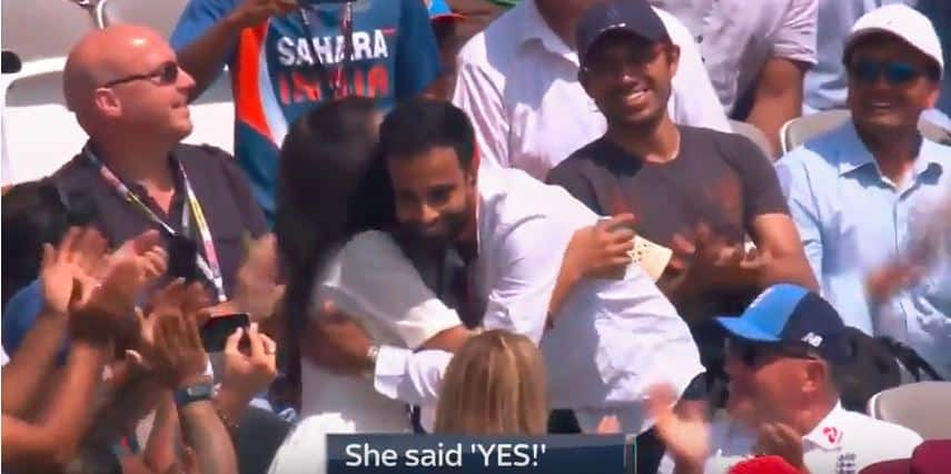 Man proposing to girlfriend at Lord's is the sweetest thing you will watch today