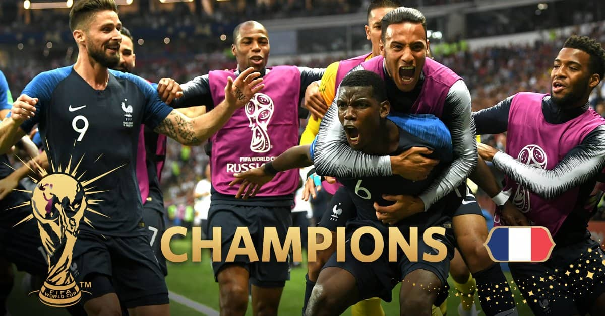 FOOTBALL FIFA World Cup 2018: Skilful France win crown, but Croatia win hearts in final with many talking points