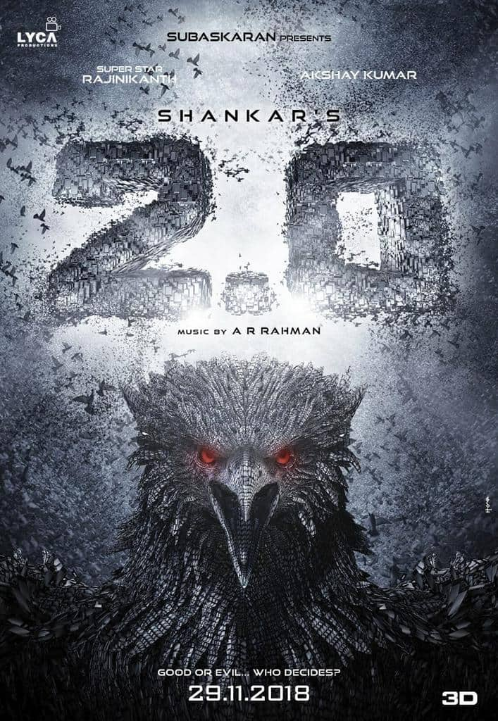 '2.0' to hit the silver screen on November 29