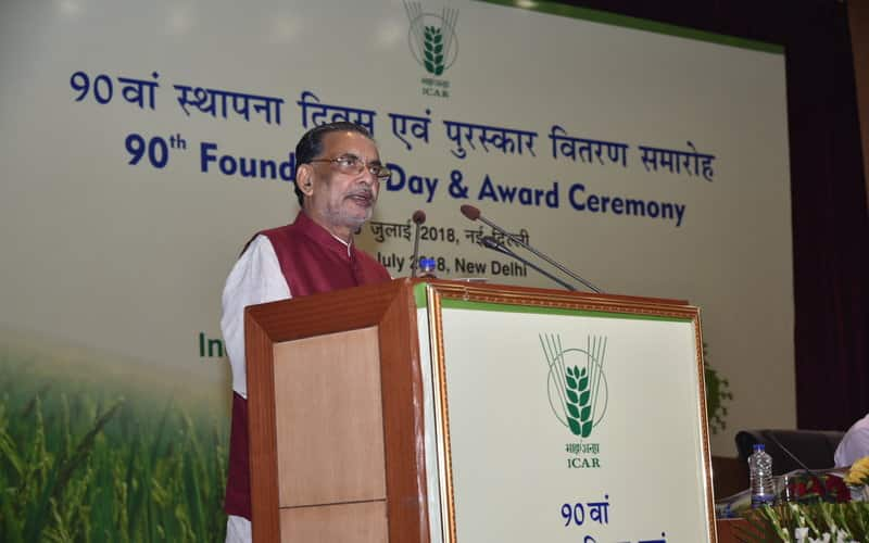 Agriculture Minister's claim farmers income will double by 2022