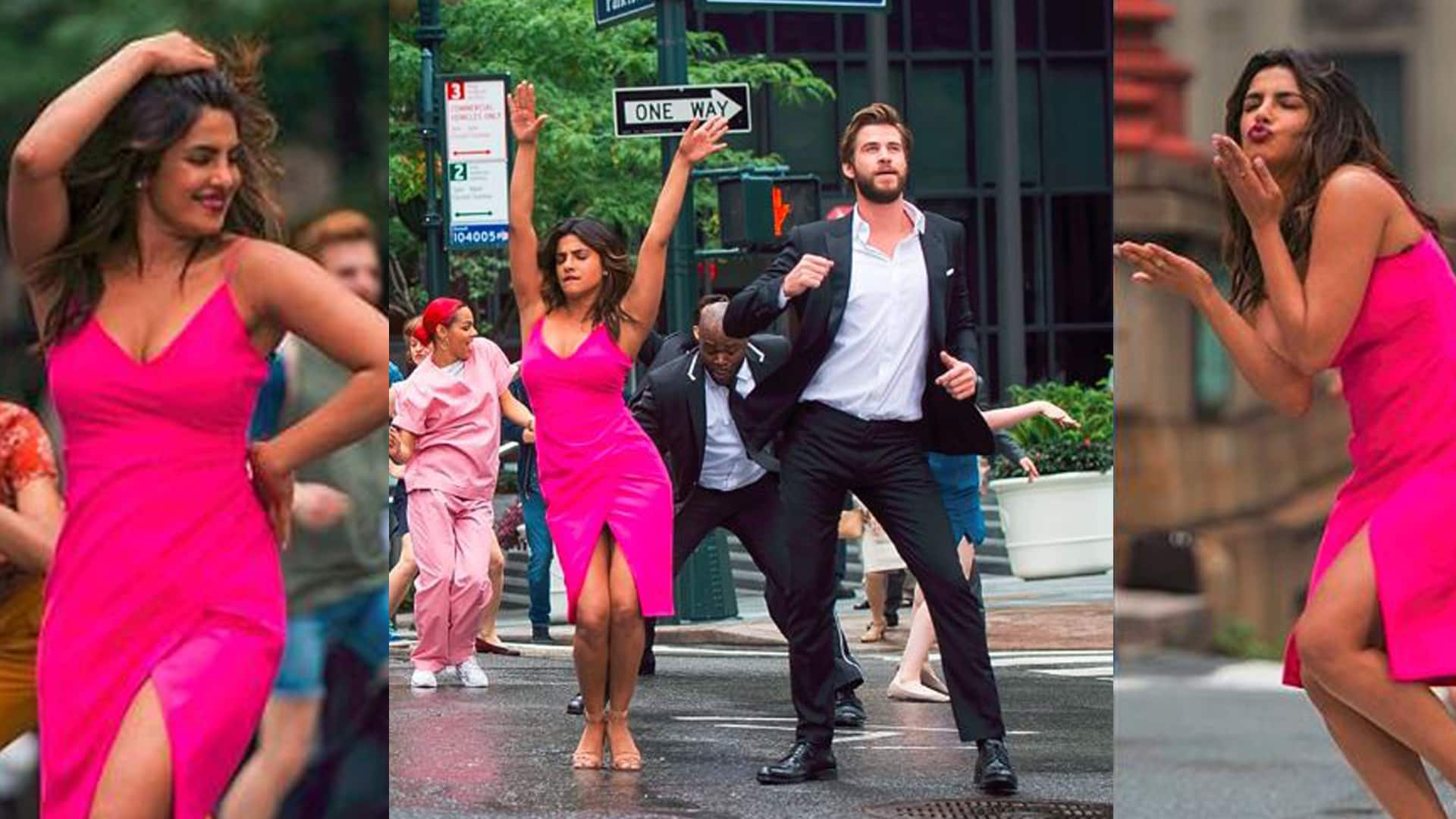 In Pics: Priyanka Chopra shows off her dance moves on the streets of New York