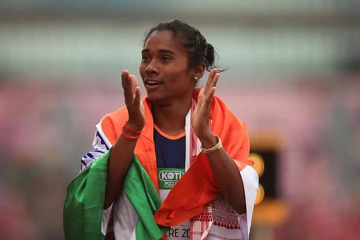 Asian games 2018 Hima das and Anas win silver in 400m
