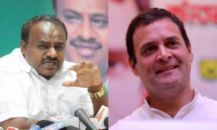 Karnataka CM sends iPhone 10 as gift to MPs as coalition partner Rahul plays champion of poor