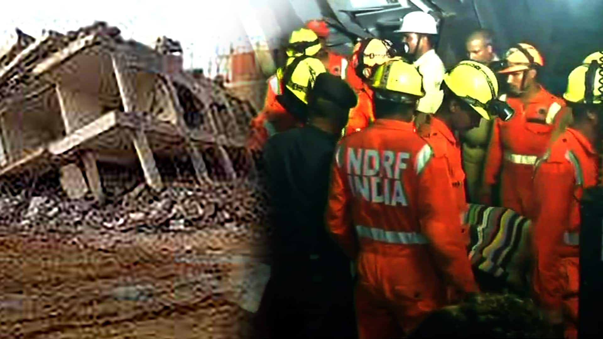 Two Buildings Collapse In Greater Noida