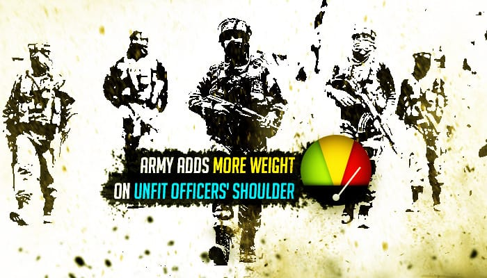 Army wages war on obesity, warns doctors against declaring overweight officers as fit