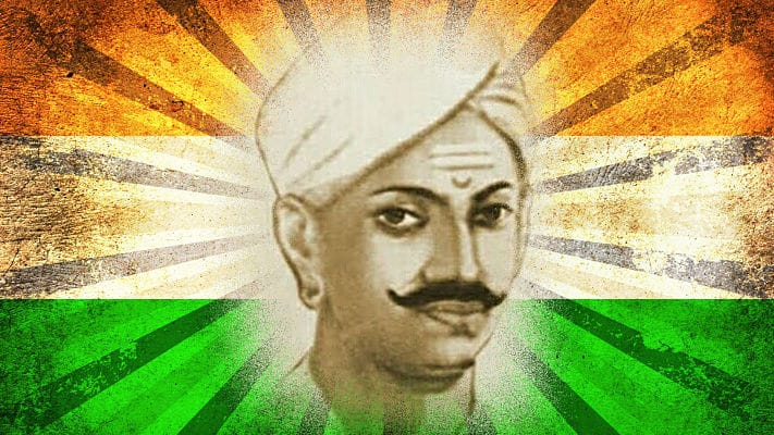 Martyr of 1957 first freedom movent Mangal Pandey s birthday today