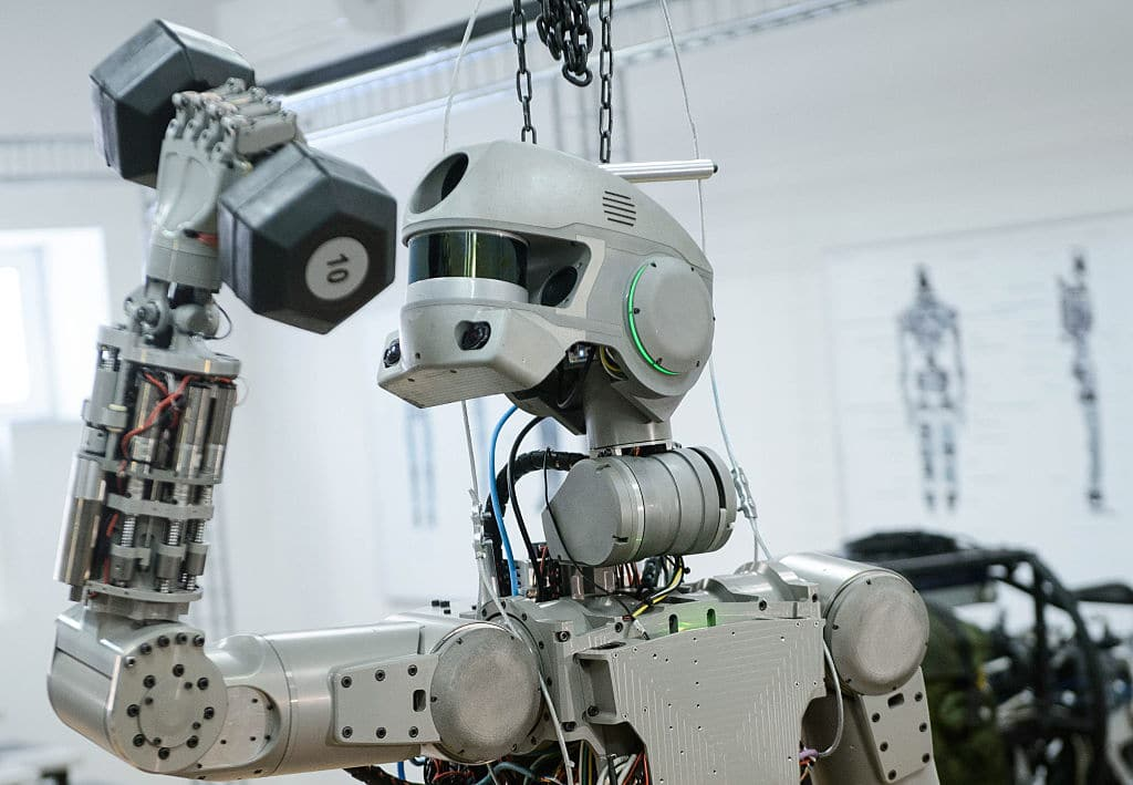 32 year old robot still performs religious rituals