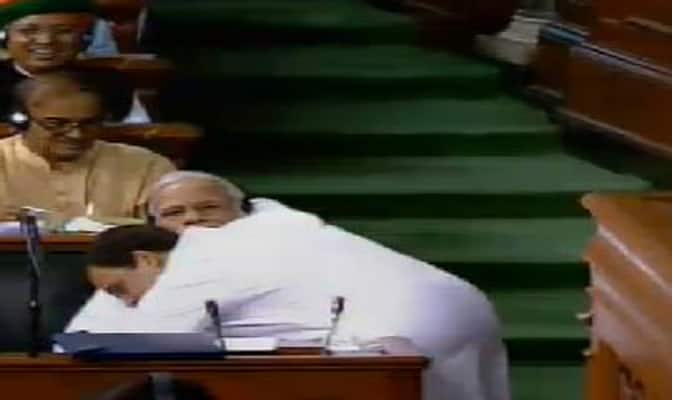 Some Within My Party Didnt Like it Rahul On Hugging PM
