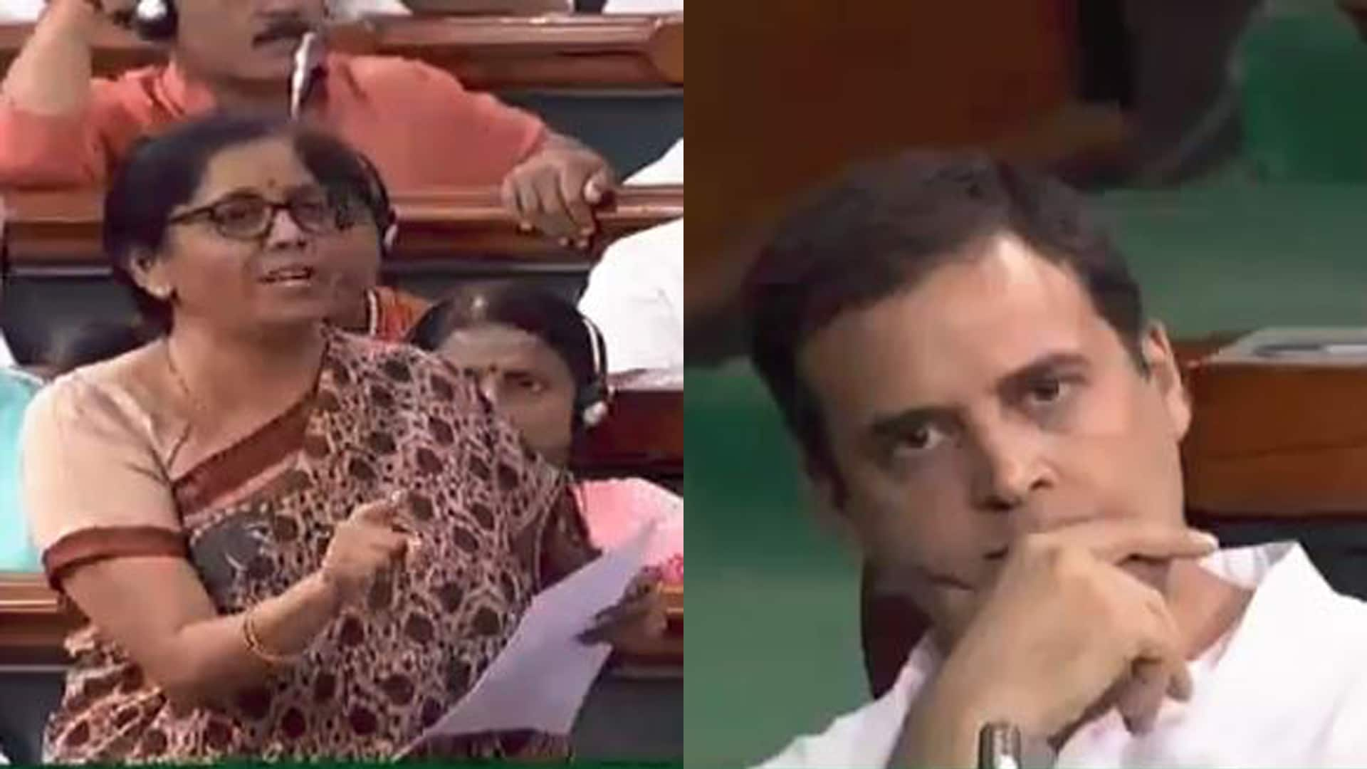 Sitharaman flattens Rahul Gandhi's Rafale fighter jets deal claims in minutes