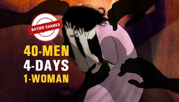How long will India have to live with this? 40 people gang-raped woman for 4 days in Haryana