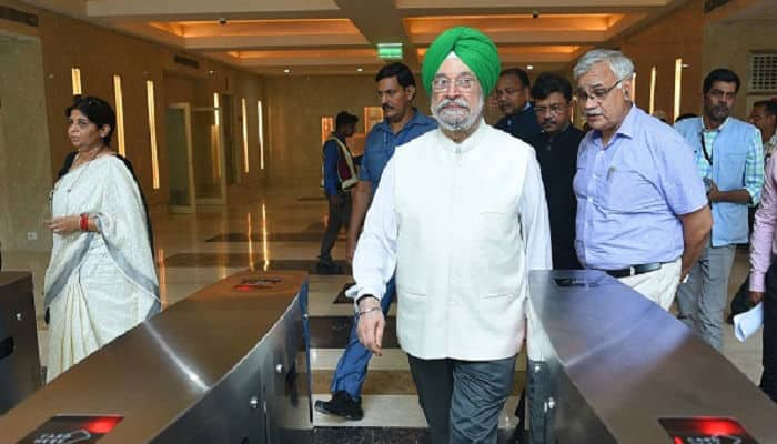 Hardeep Singh Puri 'supremely optimistic' about BJP-led NDA with winning thumping majority in 2019