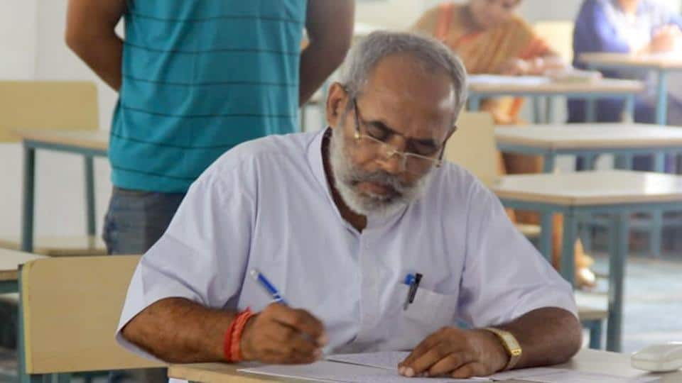 Adult education for a political leader of India: 59-yr-old BJP MLA Phool Singh Meena goes back to school