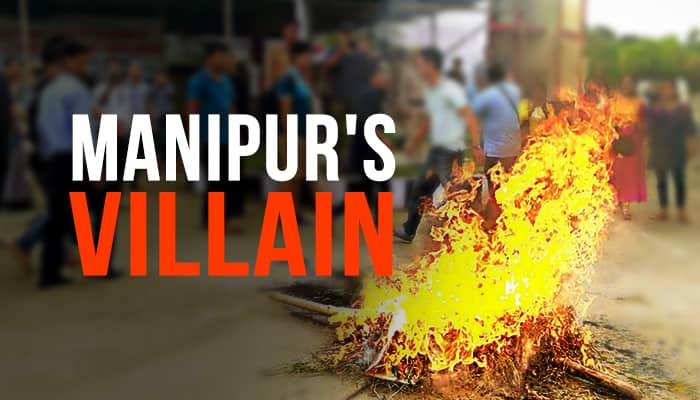 Why Manipur violence is centred around University VC