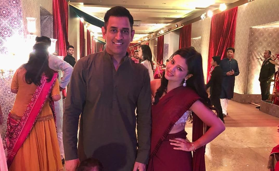 Watch Sakshi Dhoni Completely Owns The Dance Floor At Wedding Function As MS Dhoni Looks On