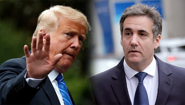 Michael Cohen recorded Donald Trump discussing paying for Playboy model's story