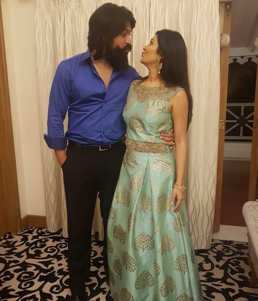 Radhika Pandit pregnant: Sandalwood actress breaks news on Facebook, shares picture with husband Yash