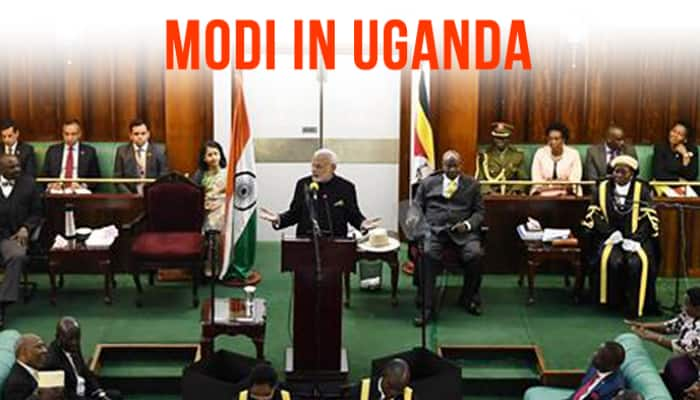 PM Modi delivers historic address to Ugandan parliament, promises India's help in agriculture