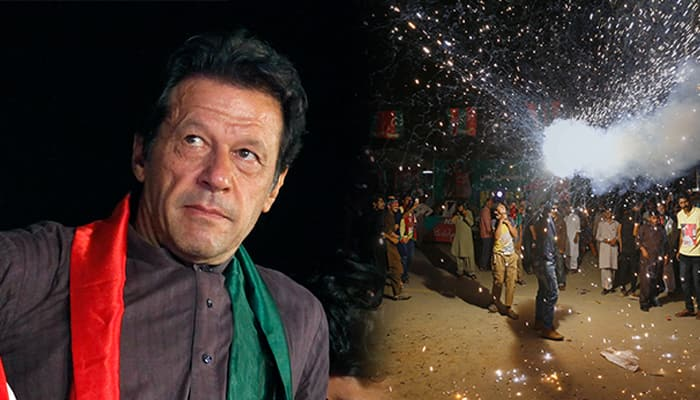 Pakistan elections: Imran Khan's party leading on 110 seats, PML-N on 67