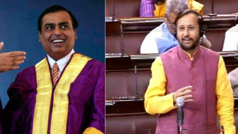 Jio Institute did not get 'Institution of Eminence' tag, says HRD Minister Javadekar